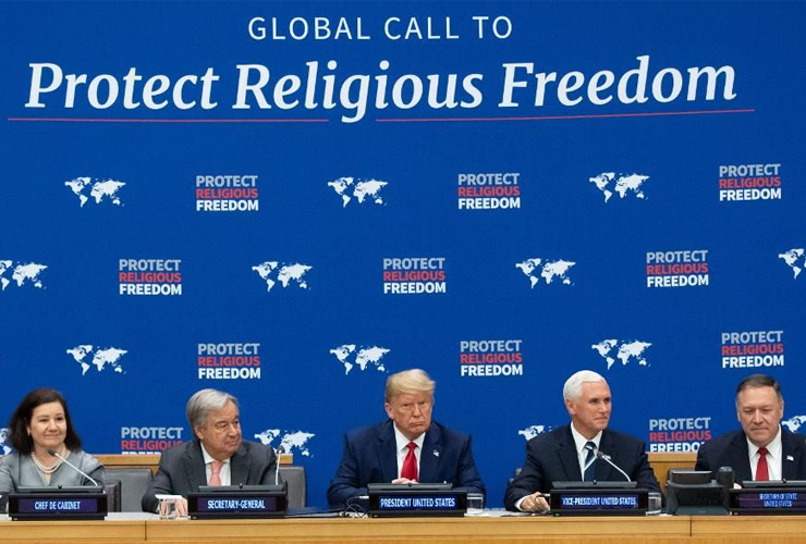 Trump for Citizenship Amendment Act, Says Pro 'Religious Freedom'