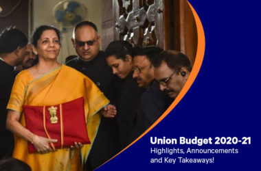 Union Budget 2020-21: Highlights, Announcements And Key Takeaways!
