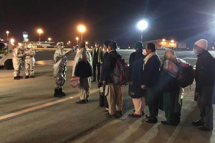 58 Indians from Iran are Back