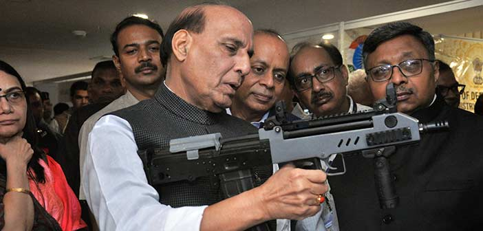 Defense Minister Rajnath Singh