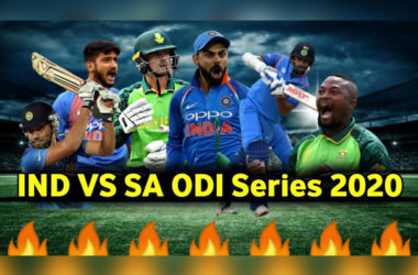 IND Vs SA ODI: Teams Gear Up for 3-Match Series!