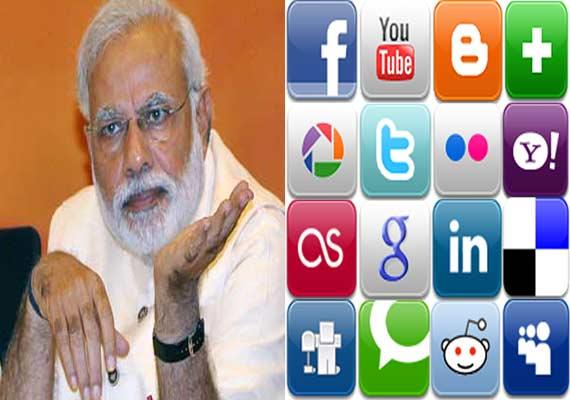 PM Narendra Modi Social Media