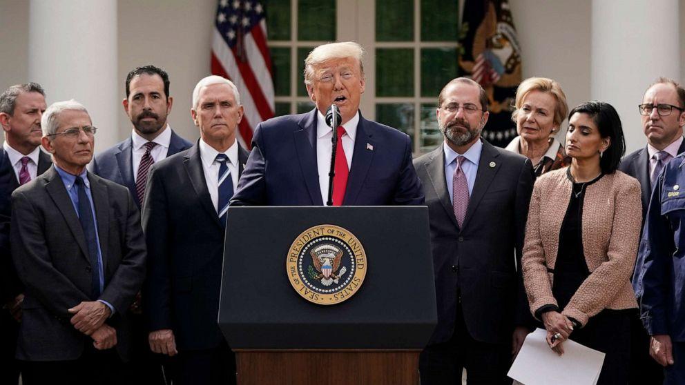 Trump New Guidelines for Coronavirus