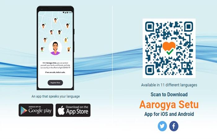 COVID-19 India: #StaySafe and #StayAlert with 'Aarogya Setu' App!