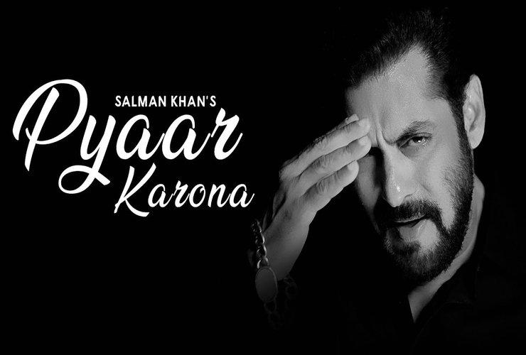 #PyaarKarona: Salman Speaks To India Through His Song!