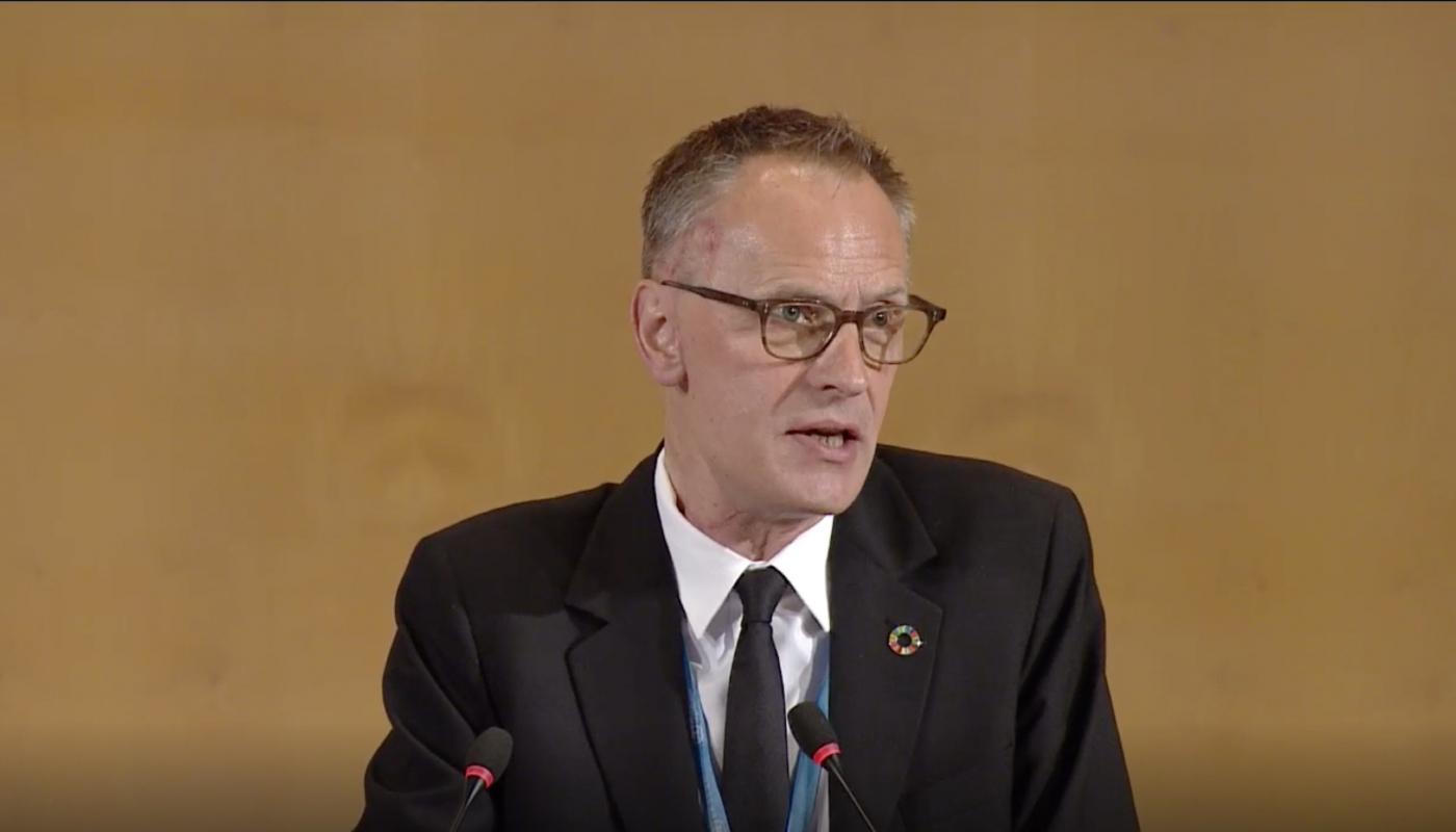 Richard Horton, Editor-in-chief of Lancet