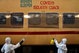 Transforming Rail Coaches Into Isolation Wards