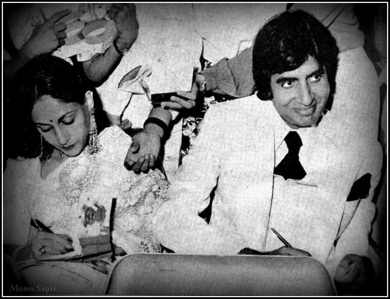 Amitabh with Jaya Bachchan