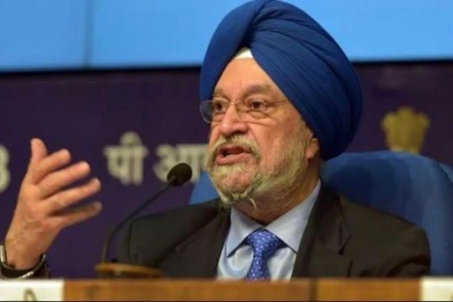 Civil Aviation Minister Hardeep Puri