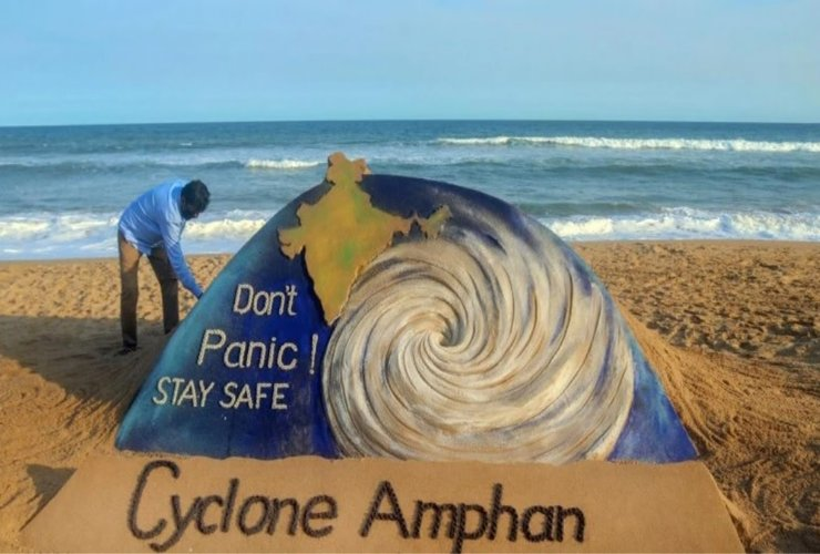 Coastal India on High Alert For 'Cyclone Amphan'!