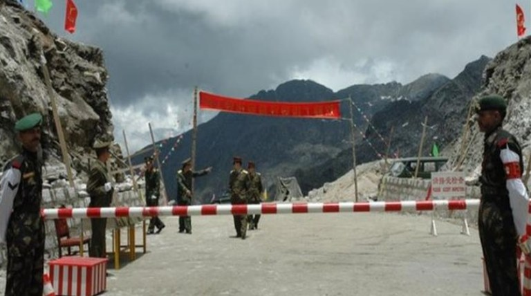India and China Border