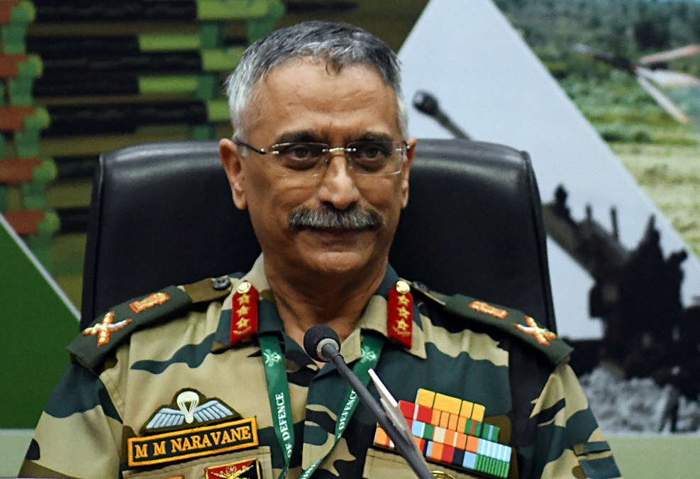 Indian Army Chief Gen MM Naravane