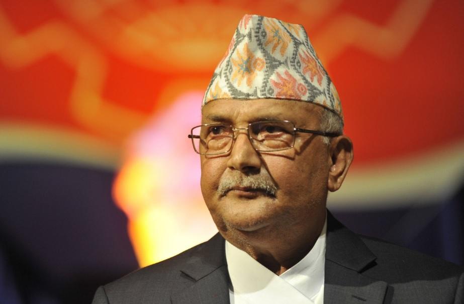 Nepal Prime Minister K Sharma Oli
