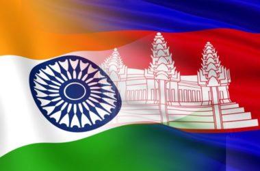 Cambodia and India