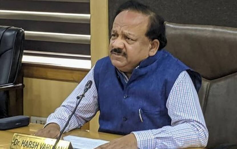 Health Minister Harshavardhan