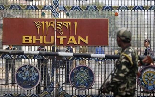 India Bhutan Border