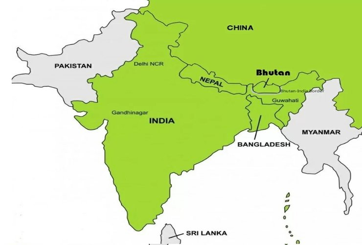 After China, Pak and Nepal, Now Its Bhutan At India Border!