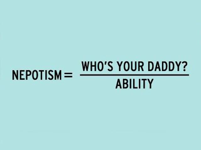 Nepotism Formula