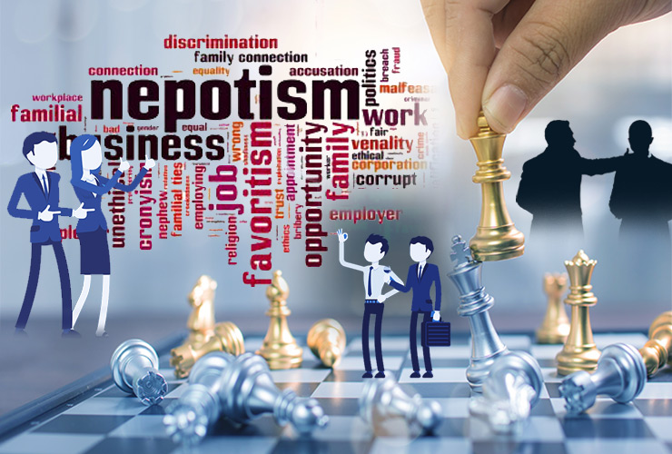 Nepotism – A Growing Threat To Individual Morale!