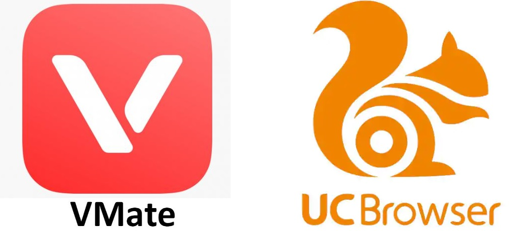 UC Browser and Vmate
