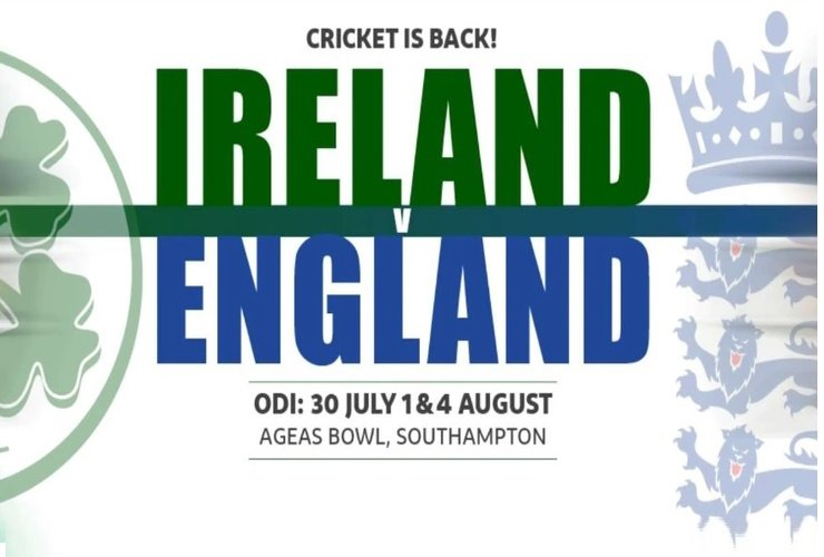 ICC WC Super League to 'Kick-start' with England-Ireland Series!