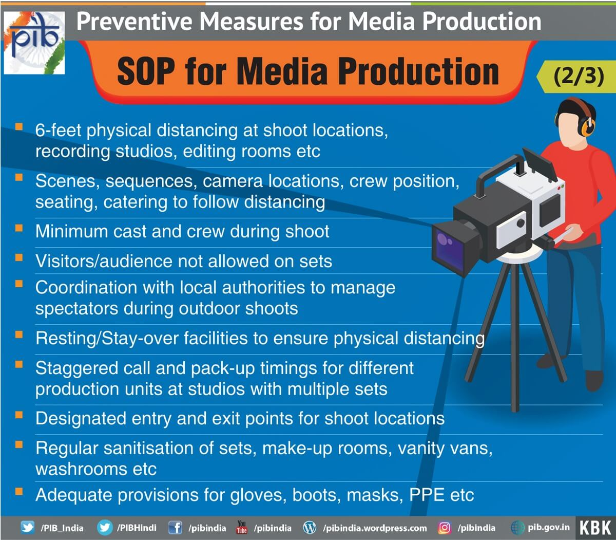 Standard Operating Procedure (SOP) Work in the Media Production Industry 2