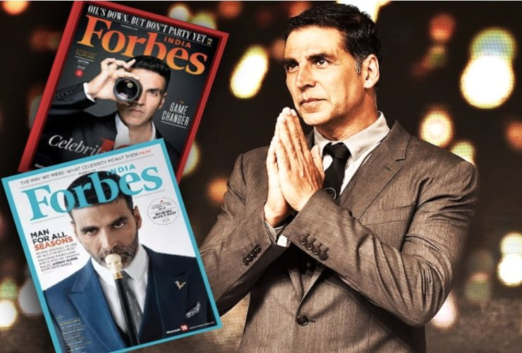 Akshay Kumar, solo Bollywood star, to feature in Top 10 Forbes highest-paid actors list