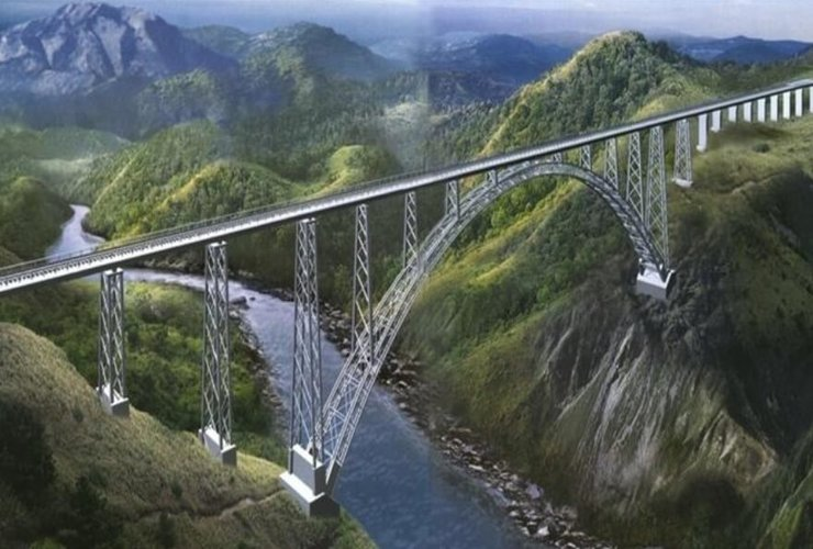 India to finish railway bridge construction connecting Jammu and Kashmir by August 2020