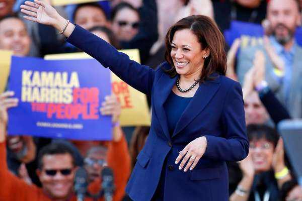 Kamala Harris Political Leanings