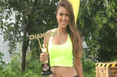 "Nia Sharma emerged as the winner for ""Khatron Ke Khiladi - Made in India."""