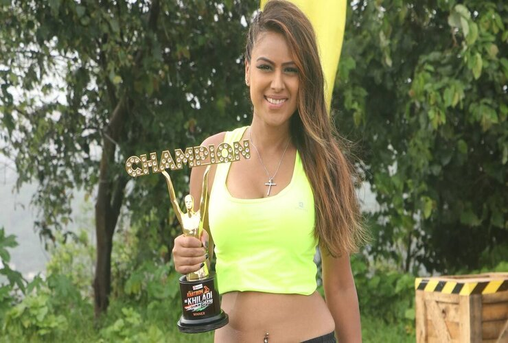 "Nia Sharma emerged as the winner for ""Khatron Ke Khiladi – Made in India."""