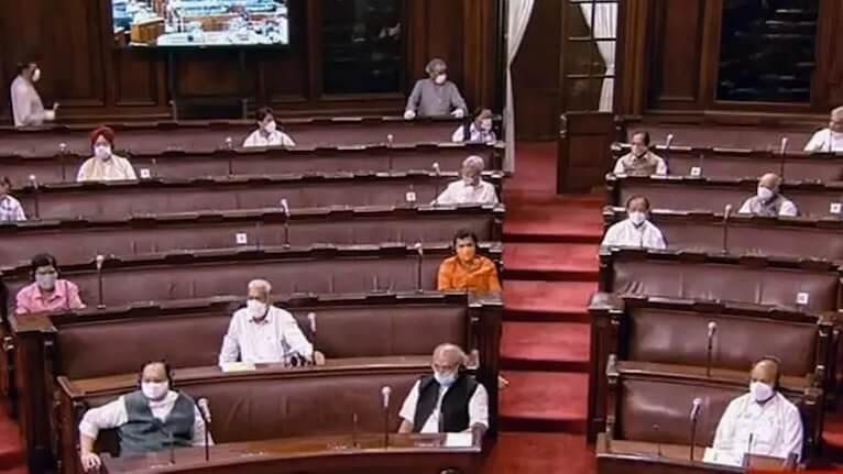 First Bill – Farming Bills in Rajya Sabha