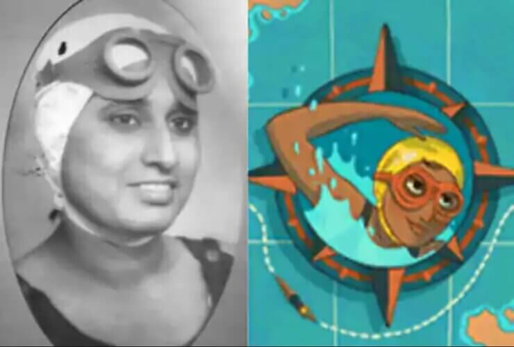 Google Pays Tribute to Famous Indian Swimmer Arati Saha With A Doodle!