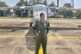 Lieutenant Shivangi Singh Woman Fighter Pilot