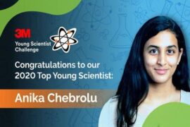 Anika Chebrolu Indian American Young Scientist Challenge