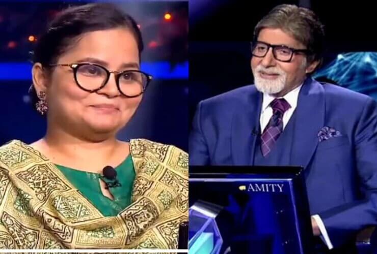 Nazia Nasim Becomes First Contestant to Win 1 Cr on KBC 12