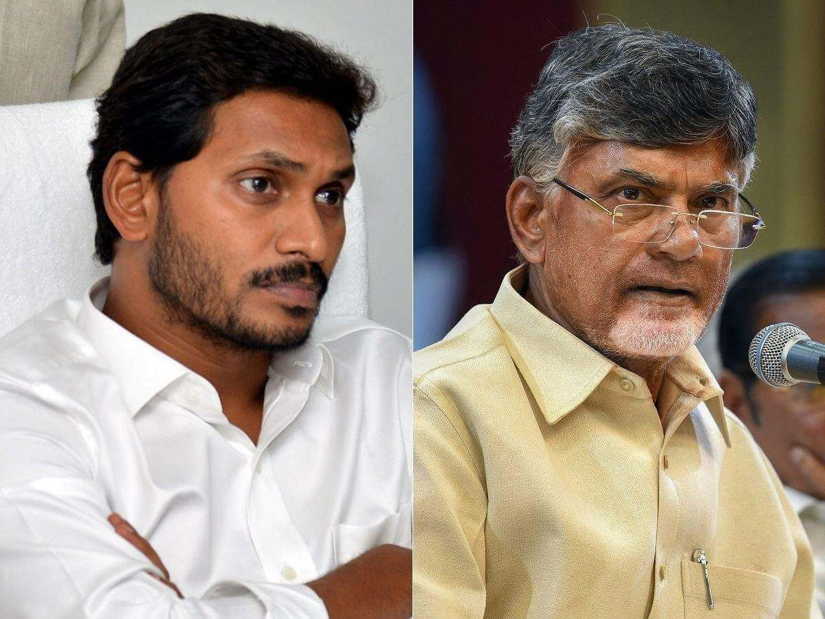 CM Y S Jagan Mohan Reddy and Chandrababu Naidu