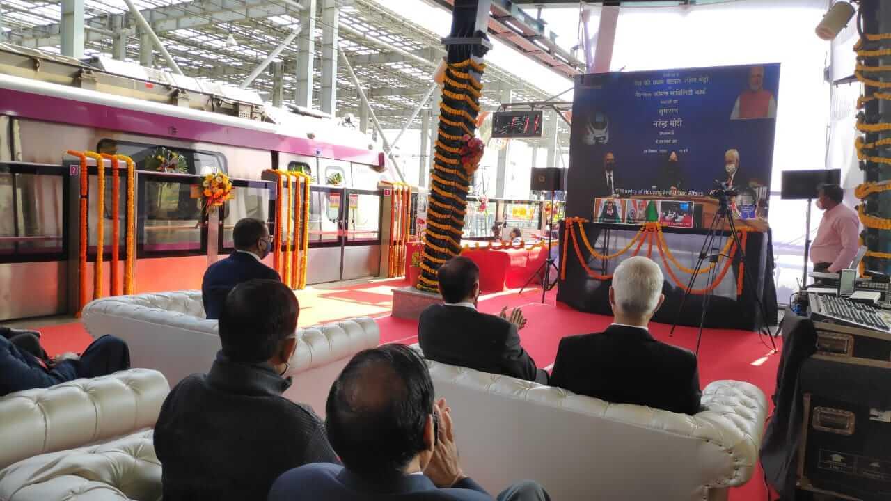 Driverless Metro Service Inauguration