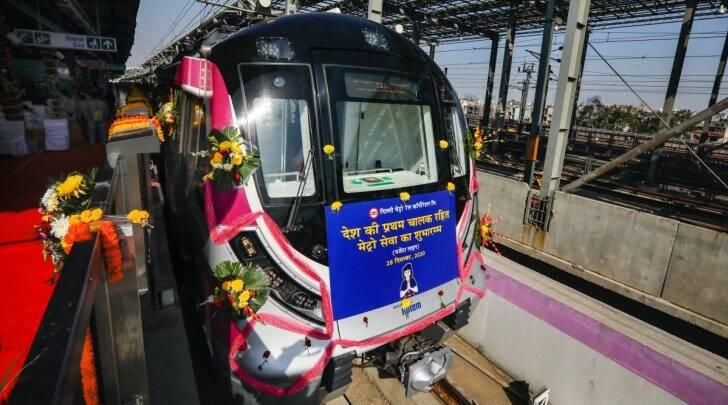 Driverless Metro Service