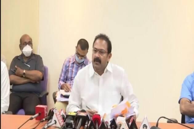 Health Minister Alla Kali Krishna Srinivas