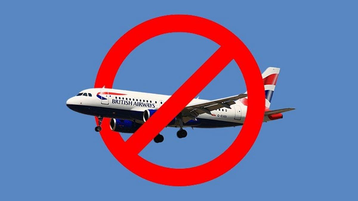 India Bans UK Flights