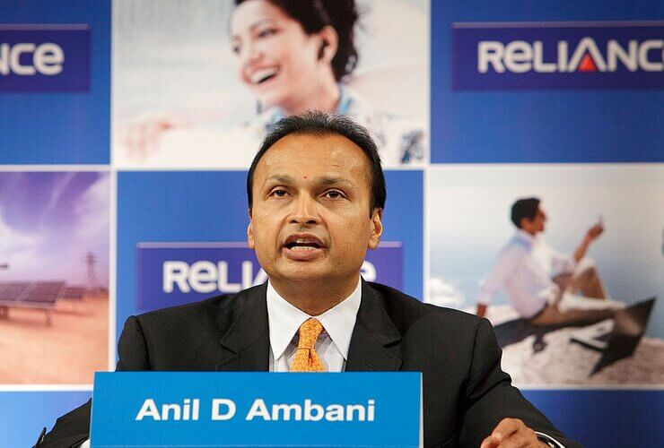Anil Ambani's Reliance Debts Stand at INR 20,380 Crore!
