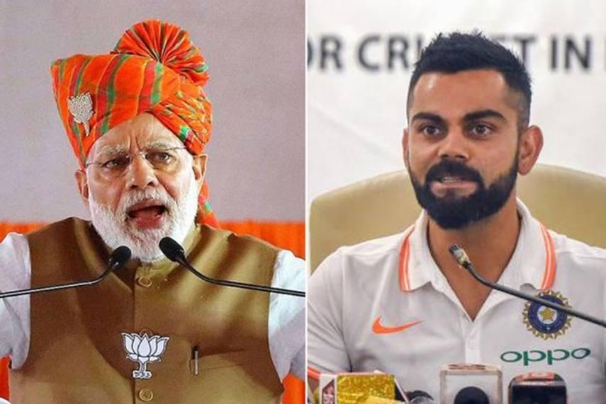 Modi and Kohli Challenges