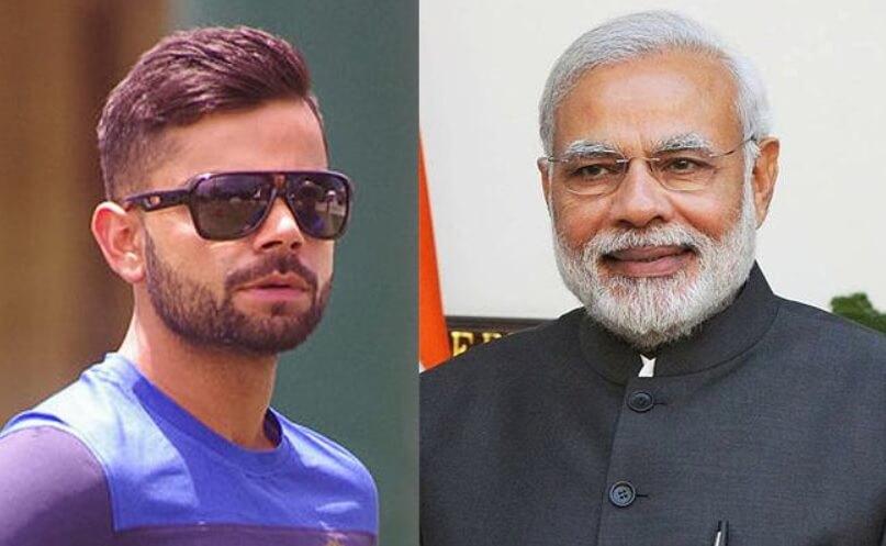 Modi and Kohli's Journey