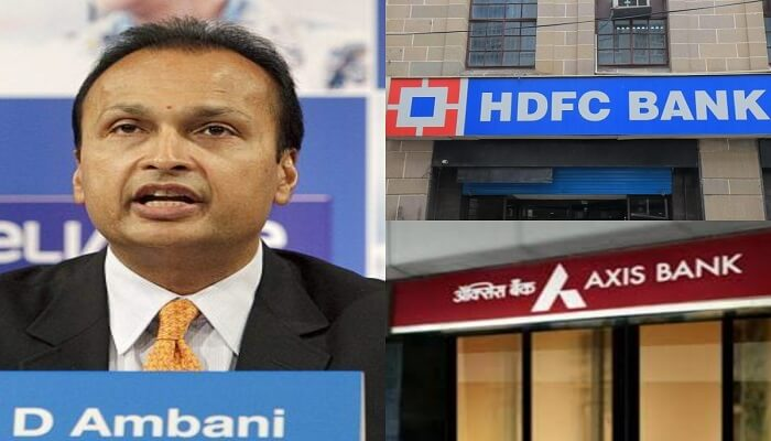 Reliance Capital Ltd (RCL), HDFC and Axis Bank