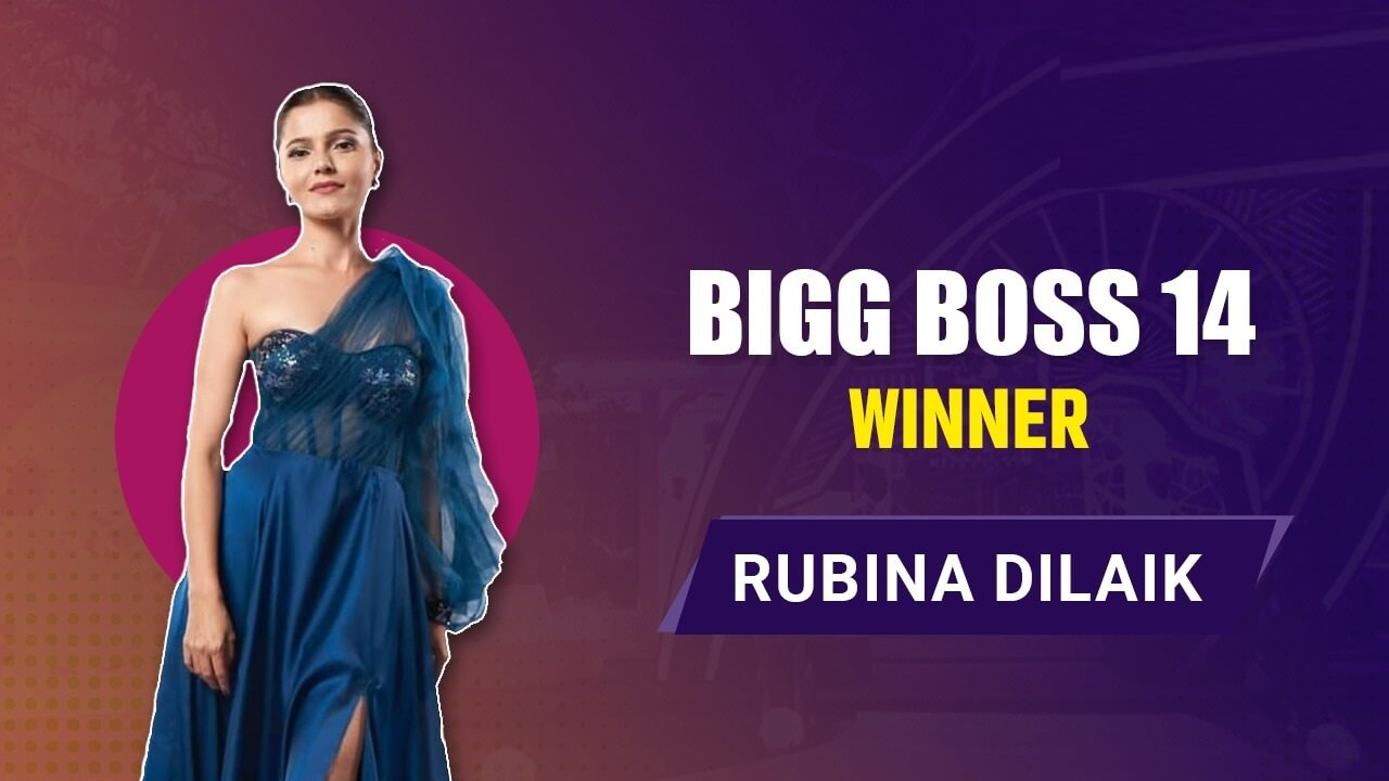 Rubina Dilaik Big Boss Season 14 Winner