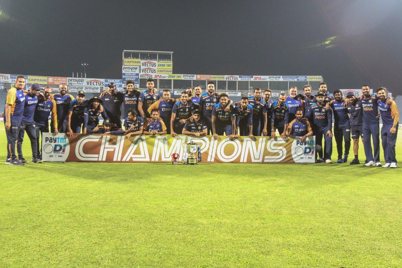 Congratulations Team India