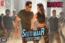 Salman Khan's Radhe: Seeti Maar Song