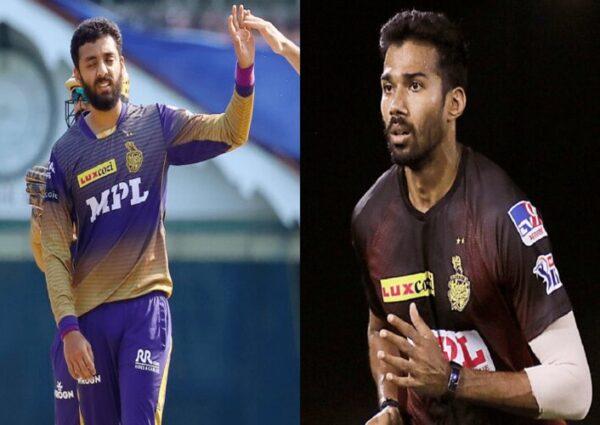 Varun Chakaravarthy and Sandeep Warrier