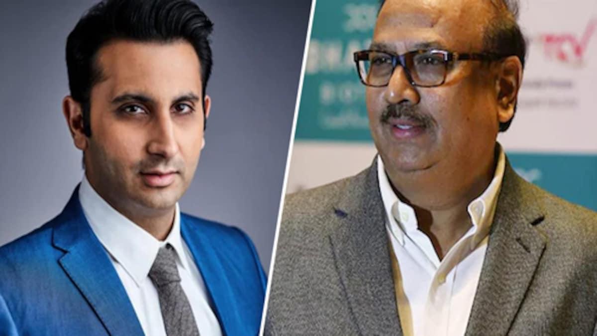 Bharat Biotech CEO Krishna Ella and Serum Institute of India CEO Adar Poonawalla